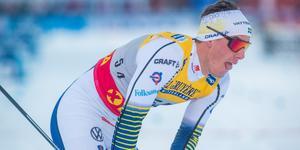 Calle Halfvarsson missar världscupen i Lillehammer.