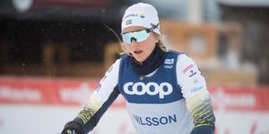 Stina Nilsson kan få en plats i VM – om rehabiliteringen går bra.