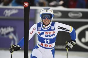 Maria Pietilä Holmner leder svenskligan i italienska Santa Caterina.
