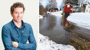 – Regnet som kommer idag gör inte saken direkt bättre, säger Per Holmberg vid Foreca. Bild: Foreca, Mats Olsson