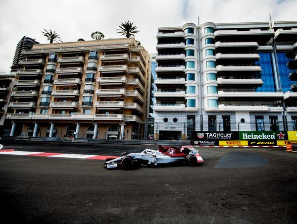 Marcus Ericsson slutade sist på torsdagens tidskörning.