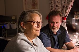 Ing-Marie Englund och Ronney Olsson önskar en fördjupad samverkan mellan härbärget, socialförvaltningen och sjukvården.