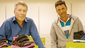 Lars Svanberg och Marcus Boström öppnar på torsdag klockan 10 sin nya butik Lager outlet i Telgehuset.