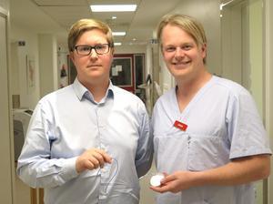 Gävleläkarna Gustav Mattsson och Peter Magnusson har i sin forskning granskat utfallet av de ICD-insättningar som gjorts i Gävleborg de senaste tio åren.