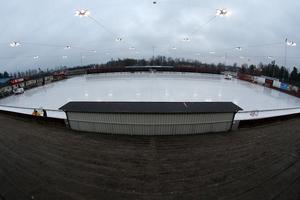 Här ska en bandyhall stå klar inför säsongen 2020/2021. Bild: Lasse Jansson
