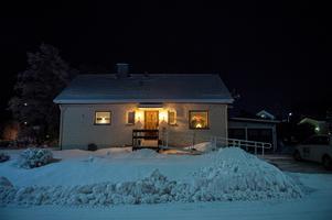 Rosmari Terps hus på Lämmelvägen i Kroksta.