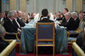 Foto: Henrik Montgomery/TTSvenska Akademien brukar dela ut priserna vid sin traditionella årliga högtidssammankomst.
