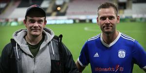 Filip Degerfeldt och Joakim Hedelind.
