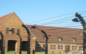 I samband med resan till Polen gjorde PRO Malung också besök vid gamla koncentrationsläger från andra världskriget. Foto: Privat