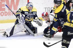Jonas Gunnarsson har varit en vägg i HV-målet den senaste tiden.