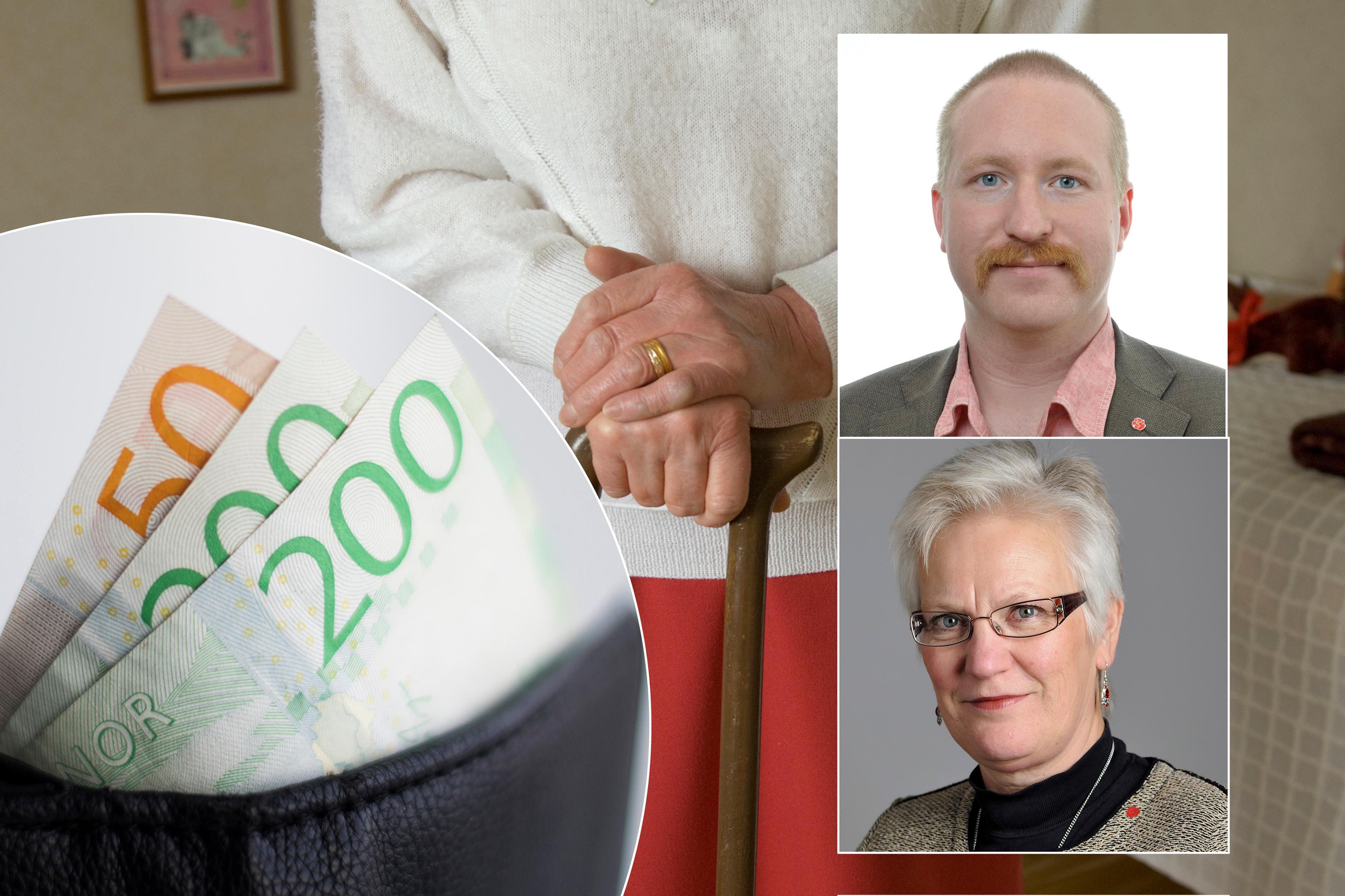 Partierna inte oroliga for pensioner