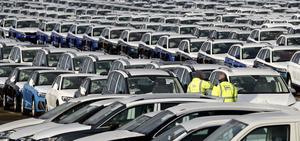 Coronapandemin har börjat få effekt på bilförsäljningen. Arkivbild.