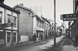 Härnösand vid sekelskiftet - en del av Bertil Malmbergs miljö.