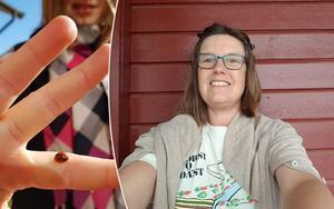 Anna-Carin Ragnarsson vann månadens bild i april.