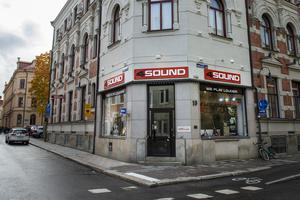 Musikaffären på Råhusgatan slog igen under hösten 2019.
