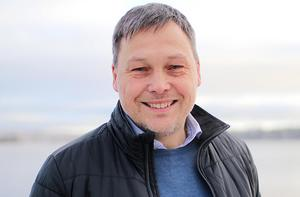 Johan Molin, vd för Siljans Chark, tillät gruppen att befinna sig på slakteriets område så länge de inte störde verksamheten. Pressfoto HKScan.