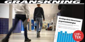 ÖP:s granskning visade att allt fler elever riskerar att missa gymnasiebehörigheten