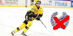 Niklas Lihagen lämnar Köping HC innan säsongen börjat. På bilden syns han i VIK-ställ under sin senaste sejour i klubben.