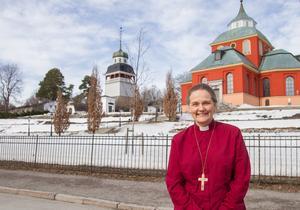 Biskop Karin Johannesson.