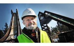 Vision för Falun är alldeles för fixerat vid kommunens centralort, anser Richard Holmqvist (mp). Foto: foto: Staffan Björklund
