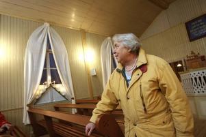 – Det är min barndoms bönhus så det känns lite speciellt, säger  Astrid Olsson.