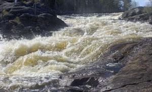 Hylströmmen är södra Norrlands största outbyggda vattenfall.