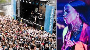 En av de stora dragplåstren under Västerås Cityfestival blir Sabina Ddumba. Bild: VLT-arkiv/Martin Bohm