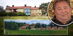 Nu ger Leif-Ivan Karlsson upp sina försök att bygga Kulthammar by i Järvsö, och söker istället en entreprenör som vill köpa Kulthammar By Fastighets AB.