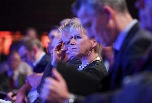 Utrikesminister Margot Wallström (S) och UD har länge varit på kollissionskurs i formuleringen om sannolikheter med Försvarsberedningen. Foto: Henrik Montgomery / TT