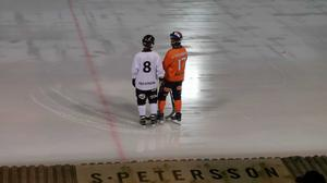 Kompisar från förr. Erik Säfström och Daniel Mossberg.