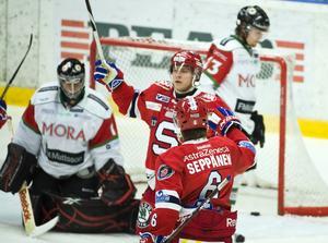 Fredric Andersson i SSK då klubben spelade i Elitserien 2010/2011. Foto: Bildbyrån.