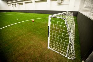 På söndag tränar Falu BS fotbollslag på de nya fotbollsplanerna.