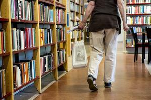 Biblioteken i Hoting och Backe kommer att stängas. Anledningen är att för få lånar böcker. Arkivbild: Christine Olsson