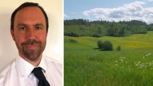 Anders Blomberg blir ny regionchef för LRF i Västernorrland/Jämtland. Foto: LRF