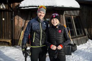 Friluftsliv är en viktig del i familjen Olssons liv och Södra berget är deras givna favorit.