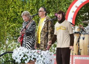 Trion har underhållit det svenska folket under 38 års tid. Bild: Bertil Ericson/TT