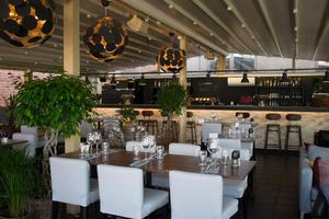 Restaurangdelen Glashuset på Kopparhatten har fått en ny och exklusiv bardisk.