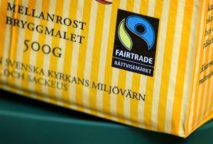 Bland de vanliga konsumentprodukter som kan ha en Fairtrade-märkning finns kaffe, kakao och te. Foto: Claudio Bresciani/TT