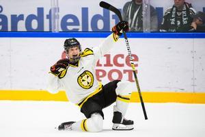 En lirare som kommer få ett ännu större ansvar nästa säsong. Foto: Fredrik Karlsson/Bildbyrån.