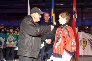 Lukas Carlsson utsågs till finalens bäste spelare.