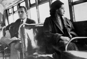 Rosa Parks.Bild: Foto: United Press