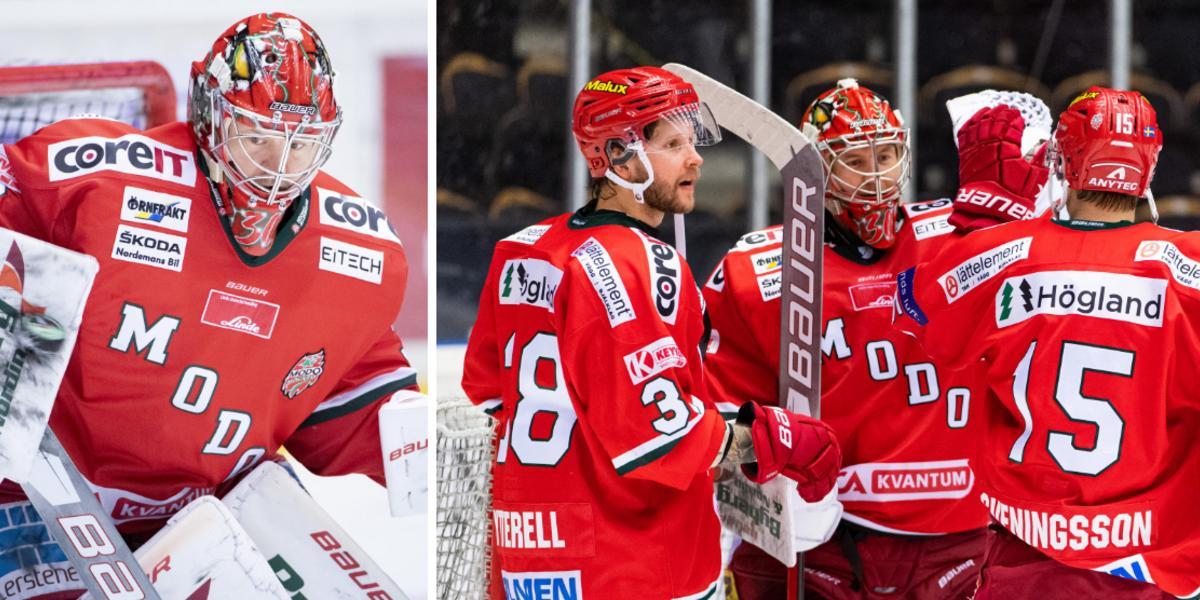 Har kontrakt med option – därför kan Peters bli kvar i Modo Hockey
