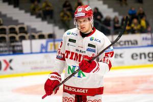 Anton Wedin var tillbaka mot Skellefteå. Foto: Ola Westerberg (Bildbyrån).