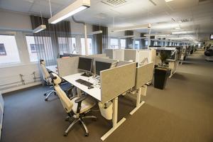 Ett 40-tal lediga platser finns att fylla på Gävlekontoret.