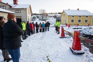 Tjänstmän på kommunens bygg- och miljöförvaltning var på plats under förra veckan för att få se hur arbetet går till praktiskt. Även privatpersoner var välkomna att lyssna.