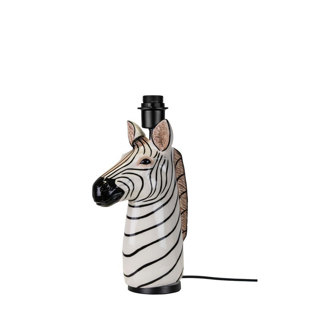 Bordslampa i form av en zebra. 14x23cm, 1295 kronor på Hemtex.