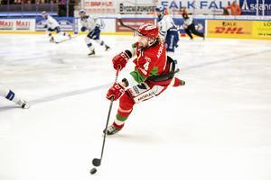 Viktor Amnér var med när Mora spelade bort Leksand från SHL i det klassiska kvalet 2017.