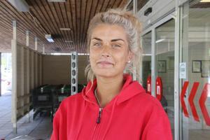 Rebecca Eriksson, 23 år, studerande, Avesta: – Det beror på vilken modell det är. Jag gillar Cadillac och gamla fina bilar.
