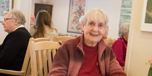 Kerstin Andersson  kommer att bli en flitig besökare på seniorgården.