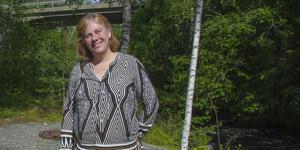 Kristina Söderbäck, innovatör och ägare av Mellankvarn i Delsbo.
